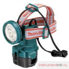 Фонарь аккумуляторный МАКIТА МL121 (9.6-12В,головной,без акк.и зар.устр)/STEXML121